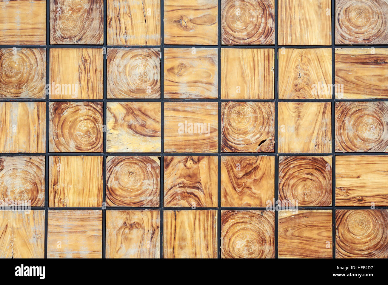Pattern wooden block texture and background. For interior or ...