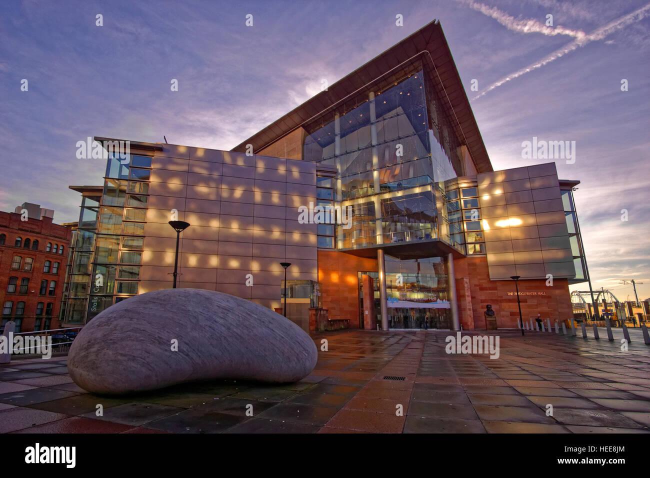 The Bridgewater Concert Hall, Manchester City Centre, Manchester, Greater Manchester, England. - Stock Image