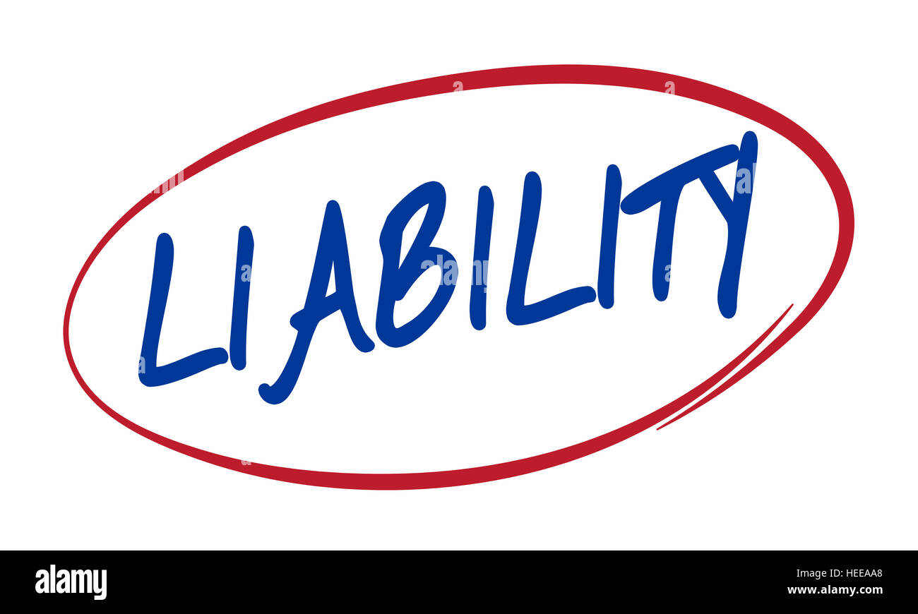 Liability Reliable Respectable Trustworthy Concept - Stock Image