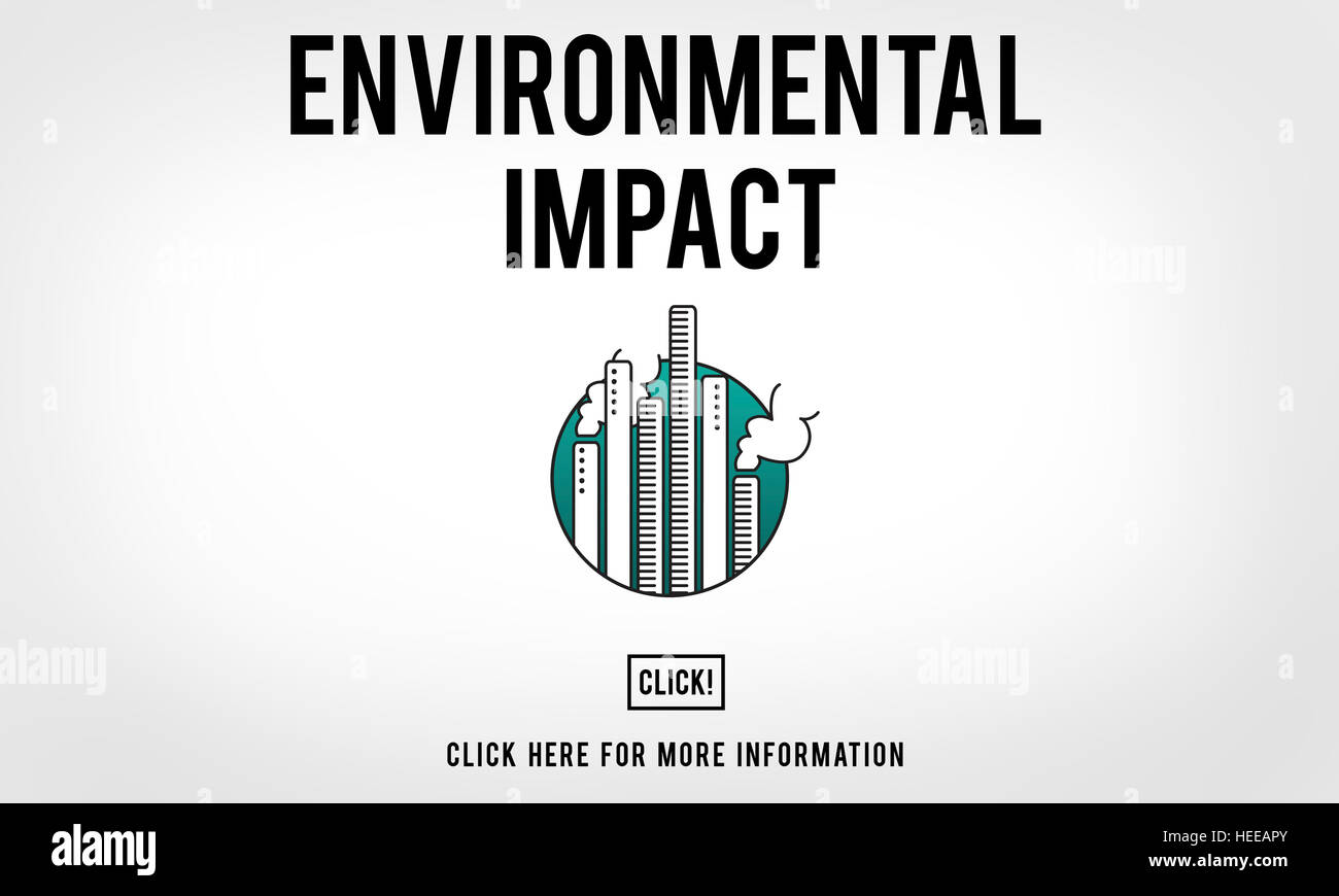 Environmental Impact Conservation Ecology Help Concept - Stock Image