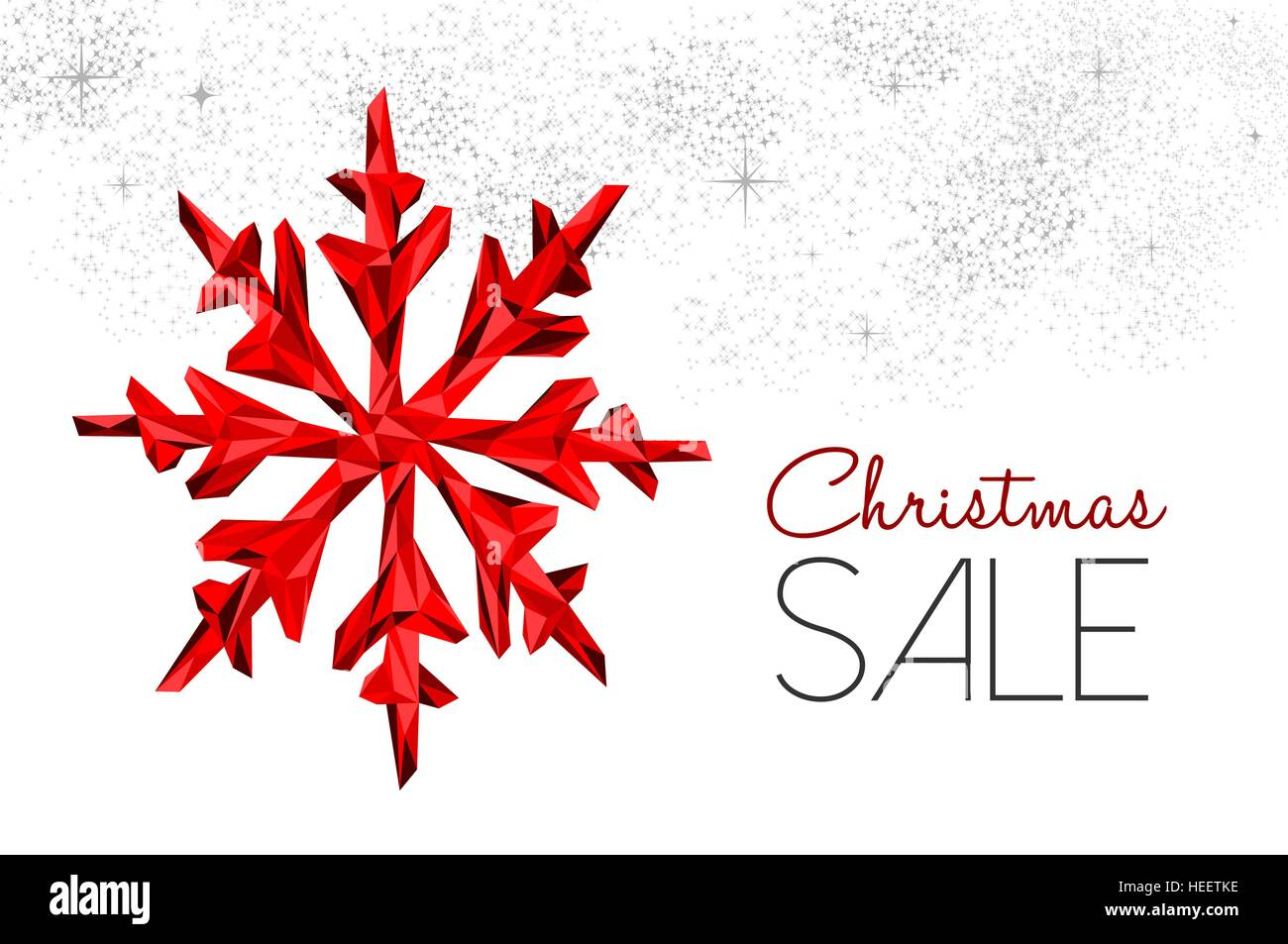 Christmas sale red winter holiday decoration for seasonal discount
