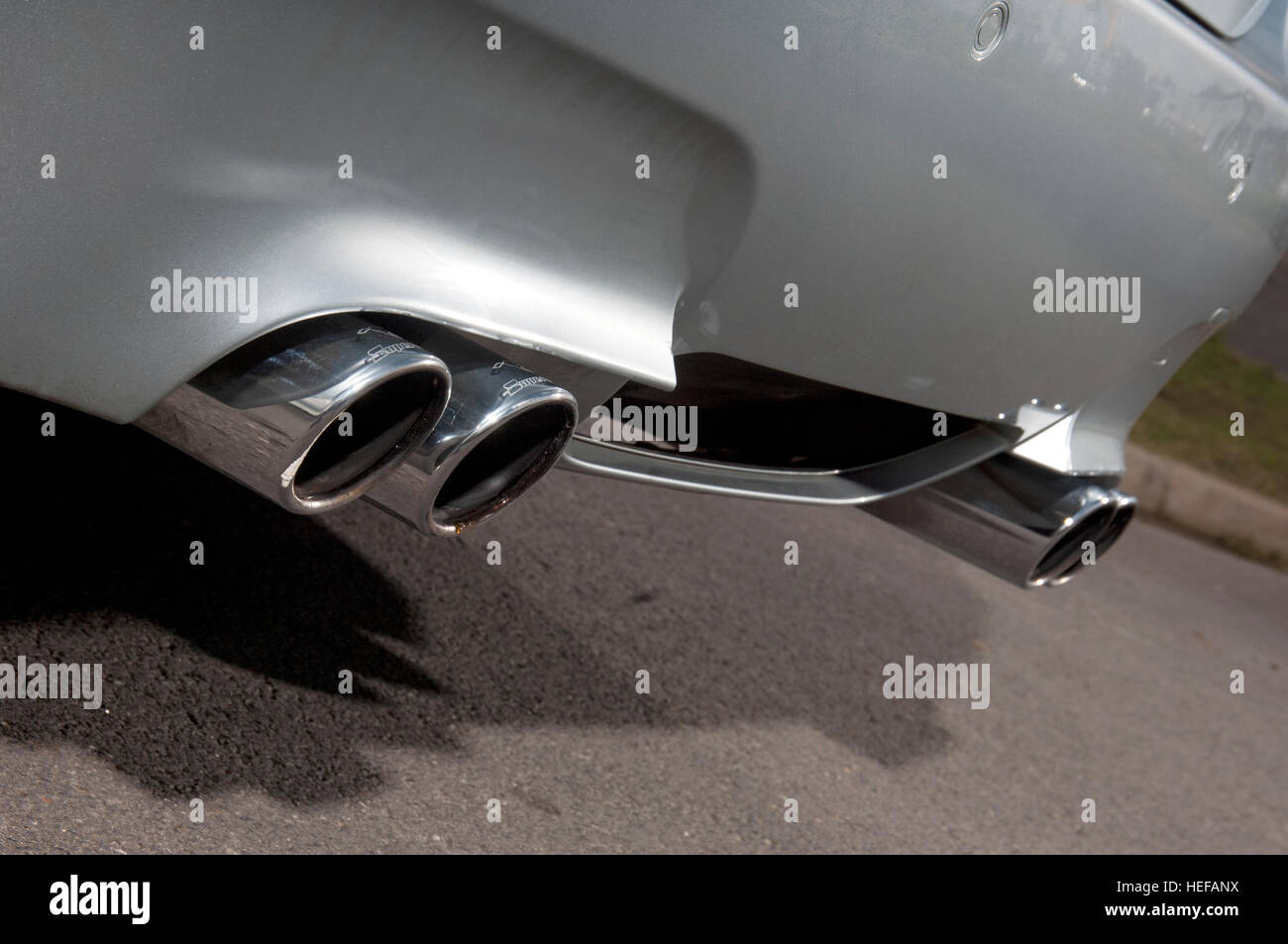 Quad Exhaust High Resolution Stock Photography And Images Alamy