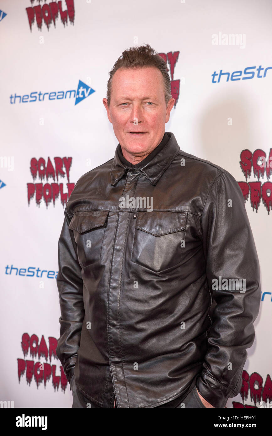 Robert Patrick attends Scary People party at theStream.tv  December 19, 2016 in Hollywood, California. - Stock Image