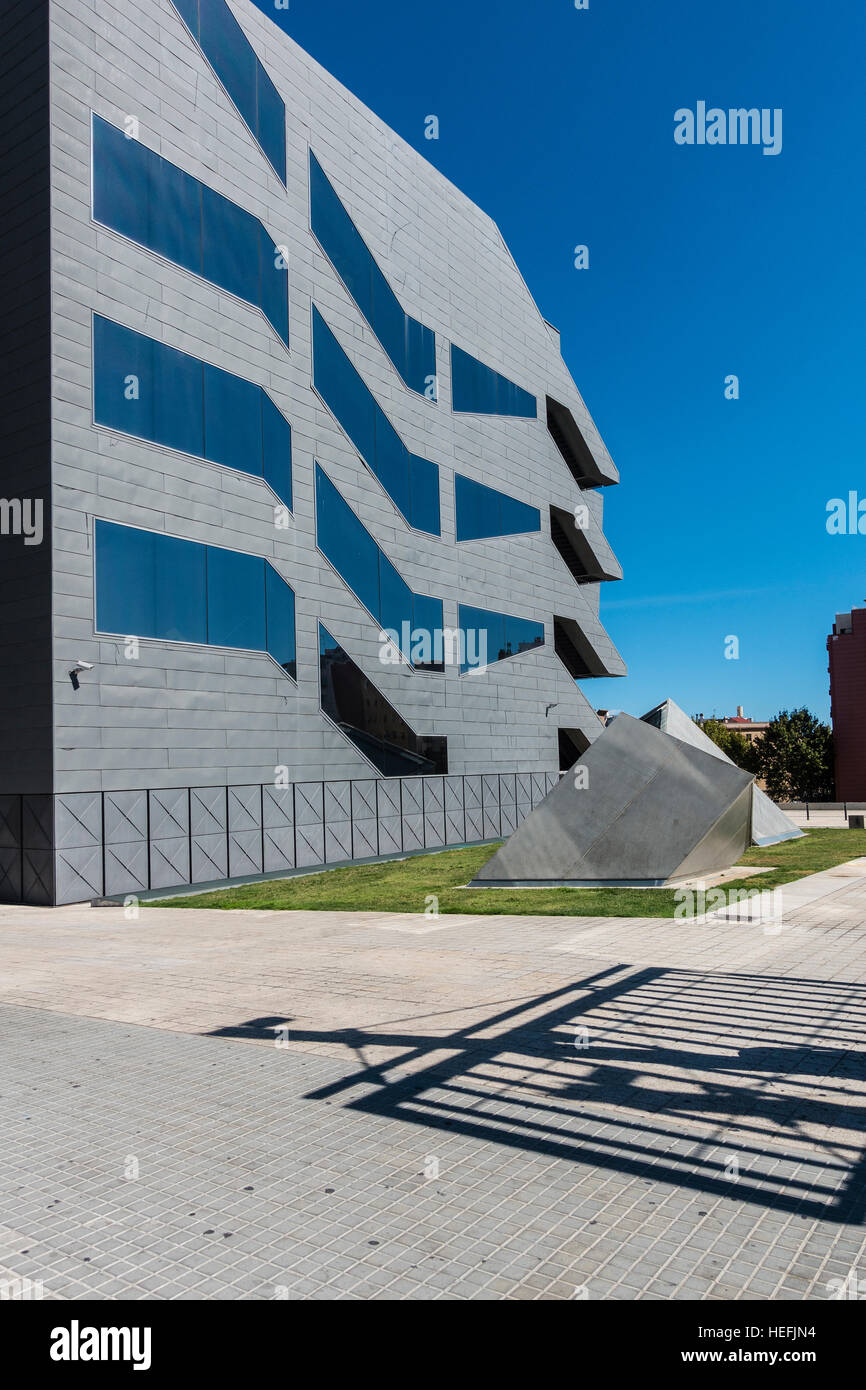The Museu del Disseny de Barcelona (English: 'Design Museum of Barcelona'), is a new center of Barcelona's - Stock Image