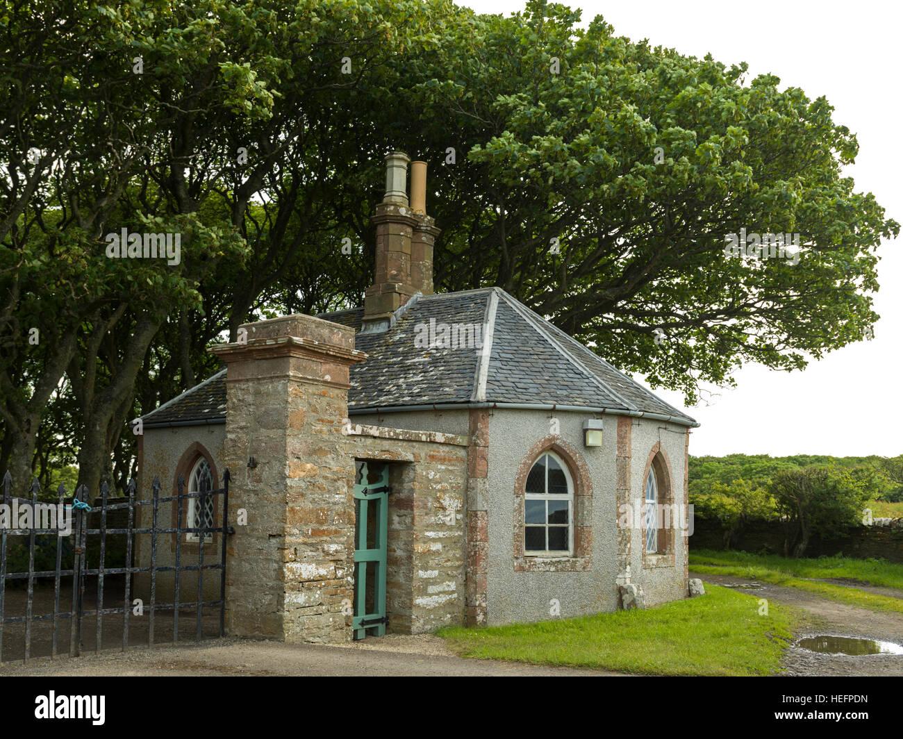Castle of Mey, Caithness, Scottish Highlands, Scotland - Stock Image