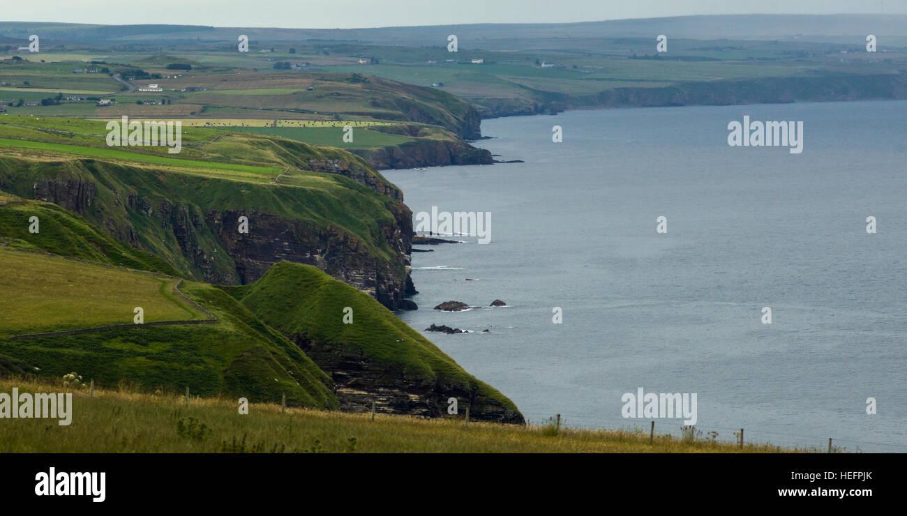Berriedale, Caithness, Scottish Highlands, Scotland - Stock Image