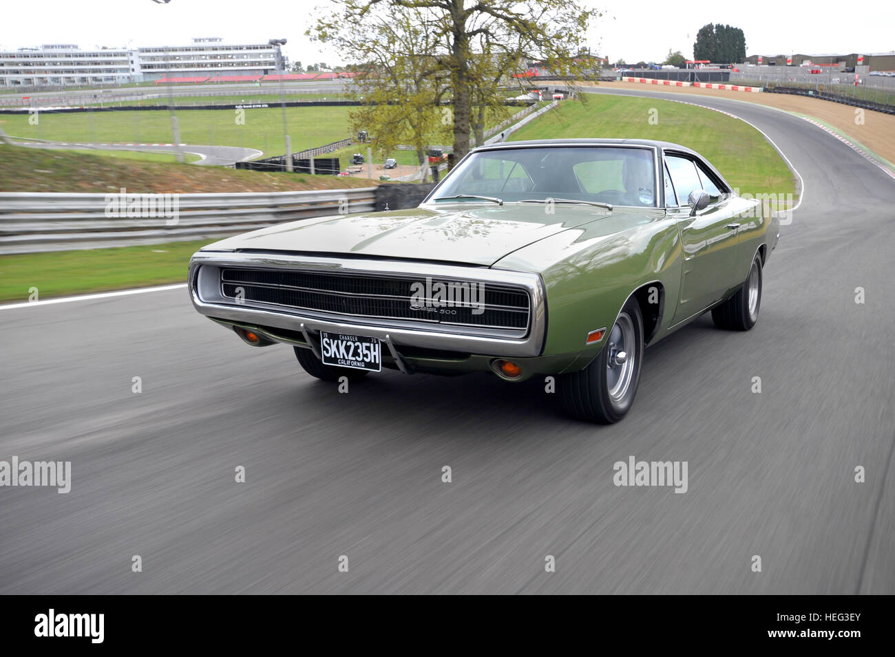 1970 dodge charger 500 classic american muscle car stock image