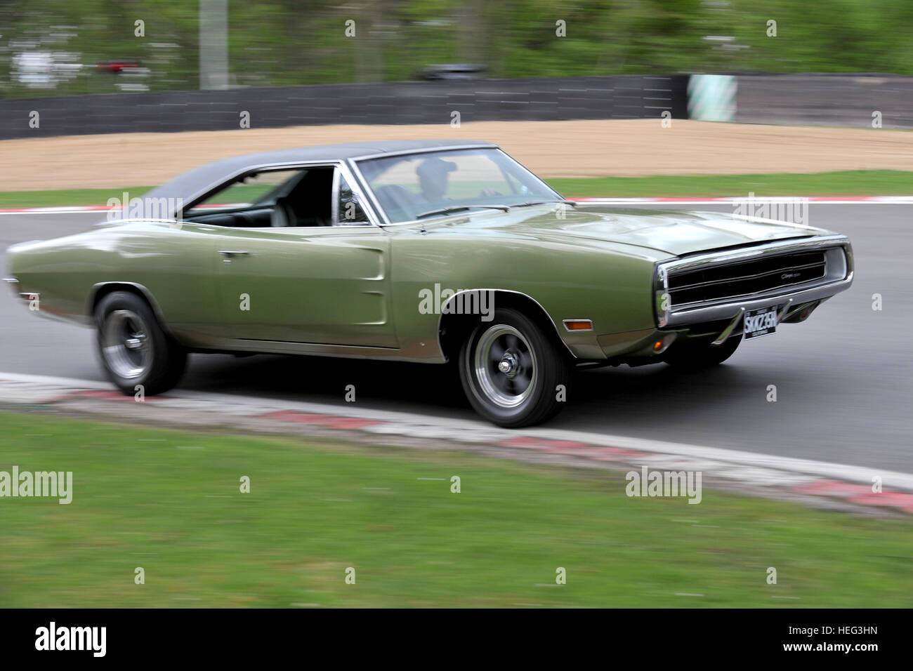 1970 Dodge Charger 500 Classic American Muscle Car Stock Photo