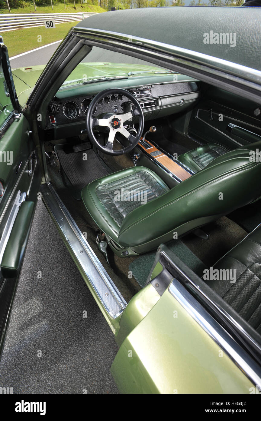 1970 Dodge Charger 500 Classic American Muscle Car Interior Bucket