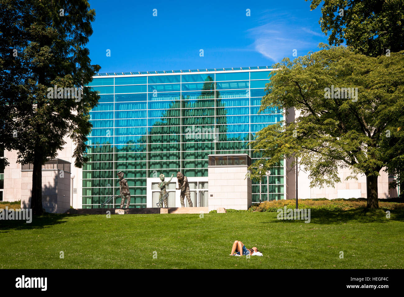 DEU, Germany, Ruhr area, Essen, the Philharmonie, Saalbau. Stock Photo