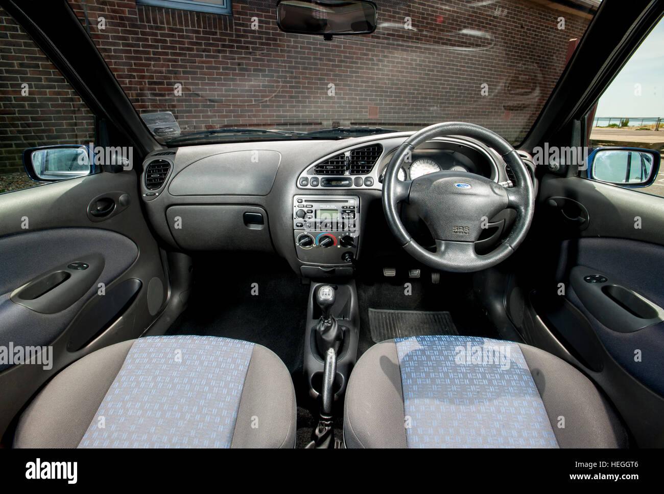 2002 Mk5 Ford Fiesta Small Hatchback Car Interior