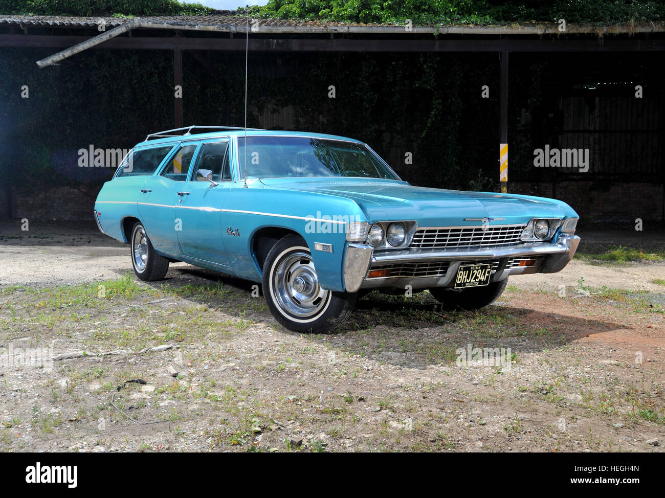 Wagon Chevrolet Stock Photos Images Alamy 1966 Bel Air 1967 Station Classic American Car Image