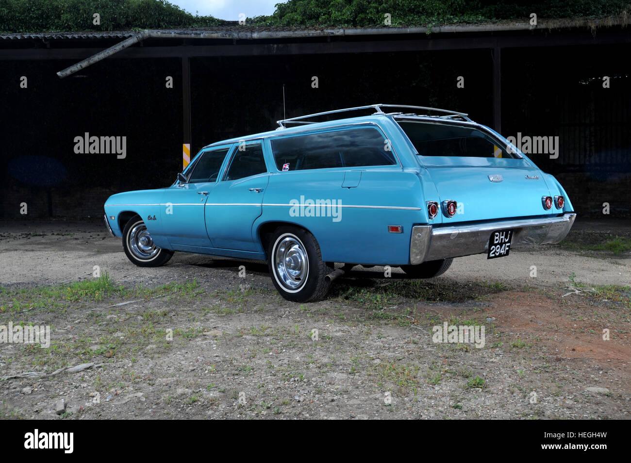 1967 Chevrolet Bel Air Station Wagon Classic American Car