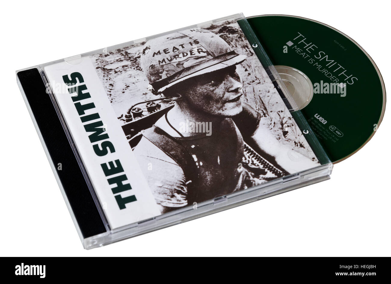 The Smiths Meat is Murder CD - Stock Image