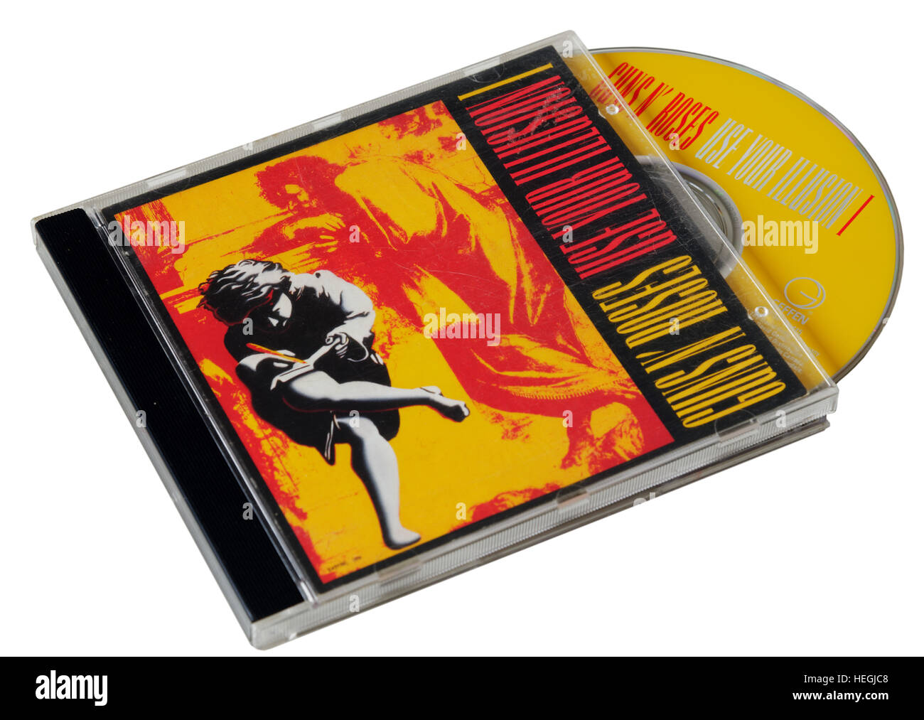 Guns n Roses Use Your Illusion I CD - Stock Image