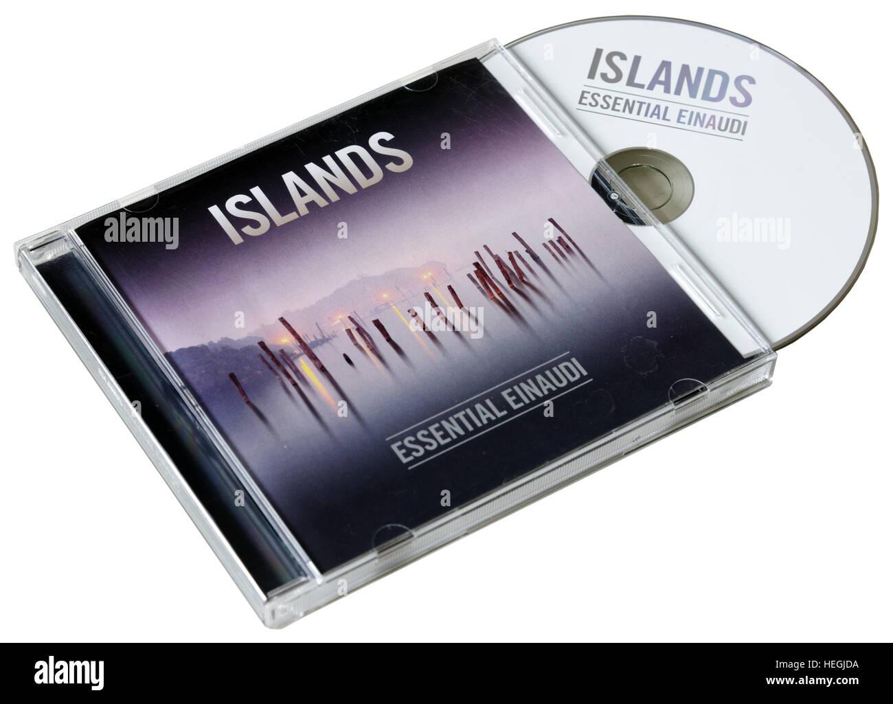 Islands - Essential Einaudi CD by Ludovico Einaudi - Stock Image