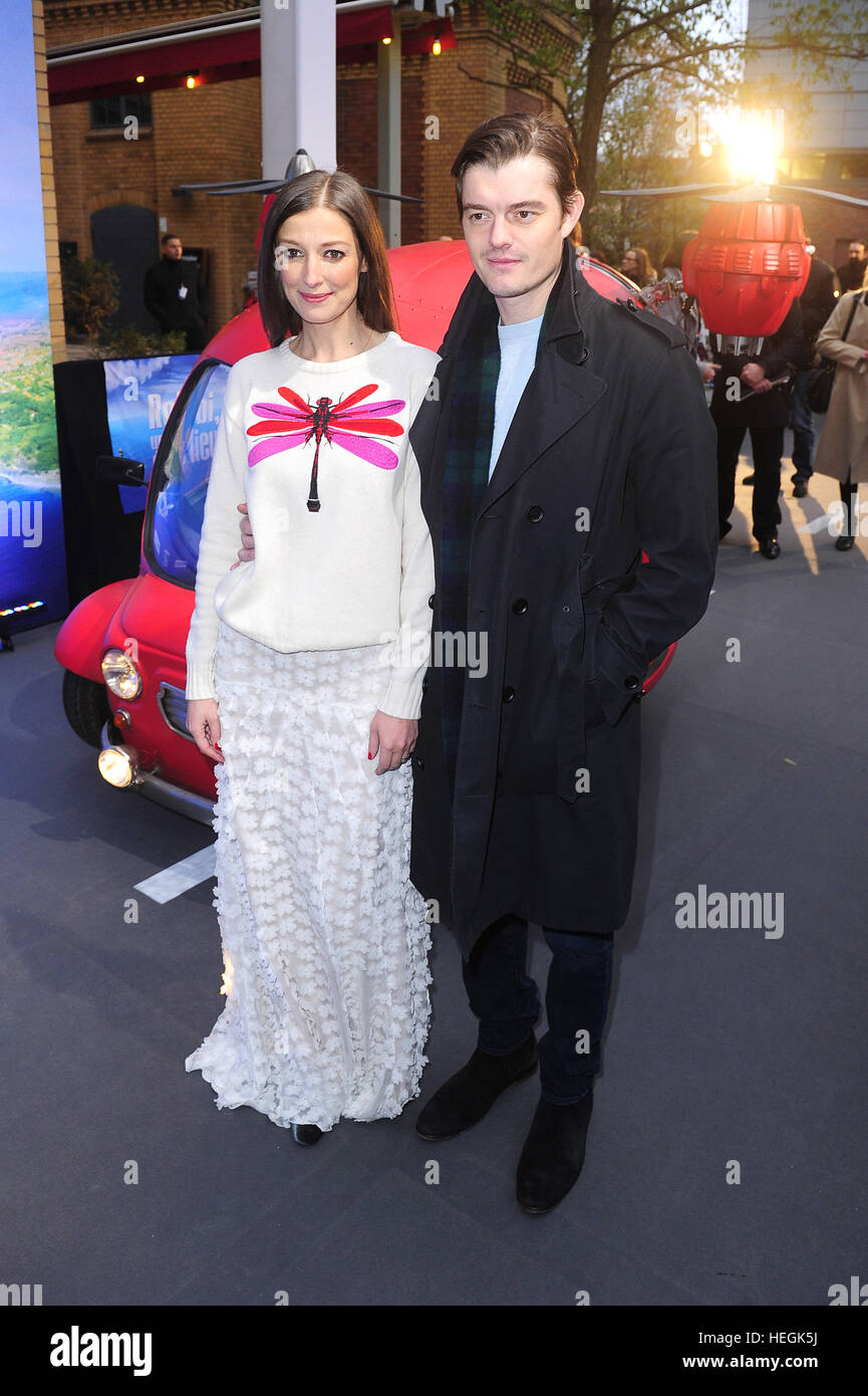 Alexandra Maria Lara And Sam Riley Attending The Premiere Of Robbi
