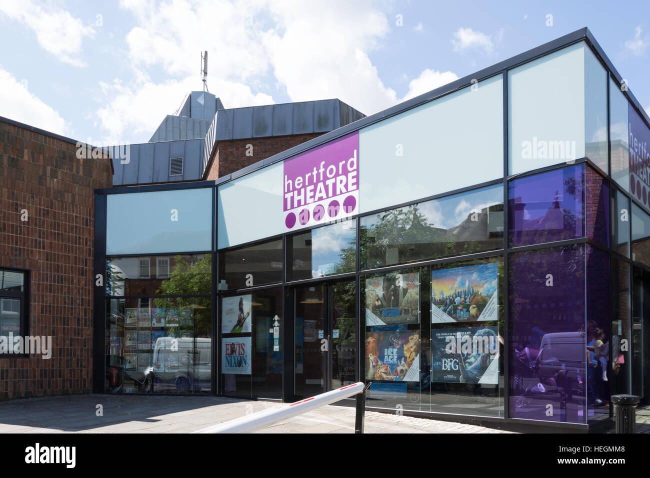 Hertford Theatre, The Wash, Hertford, Hertfordshire, England, United Kingdom - Stock Image