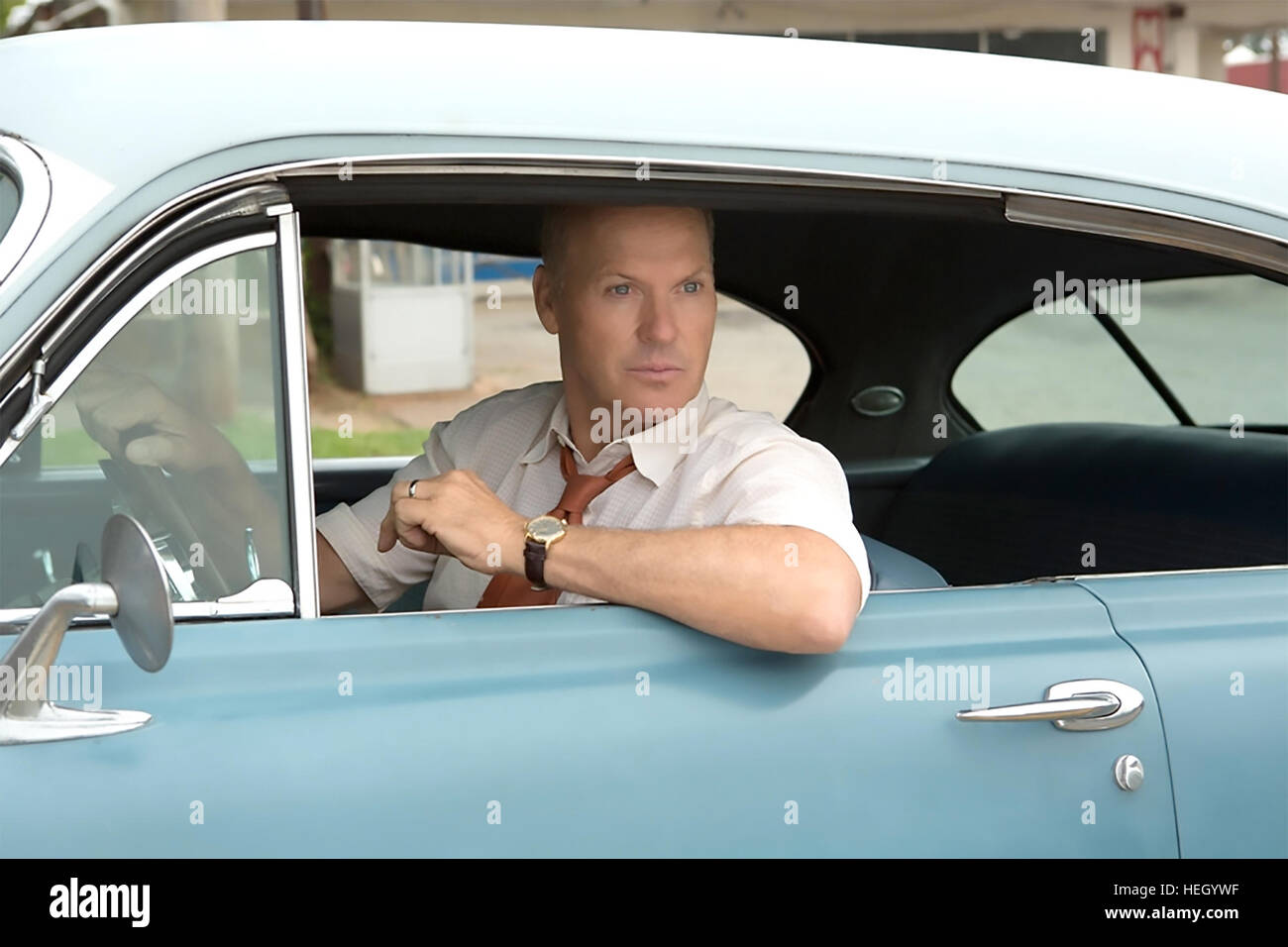 THE FOUNDER 2016 FilmNation Entertainment film with Michael Keaton - Stock Image