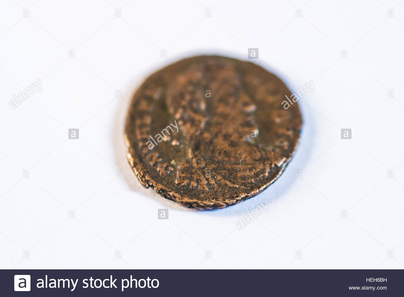 Roman coins  Old coins  Rare  Historical Stock Photo: 129455973 - Alamy