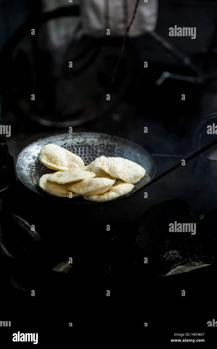 Indian Street Food - Stock Image