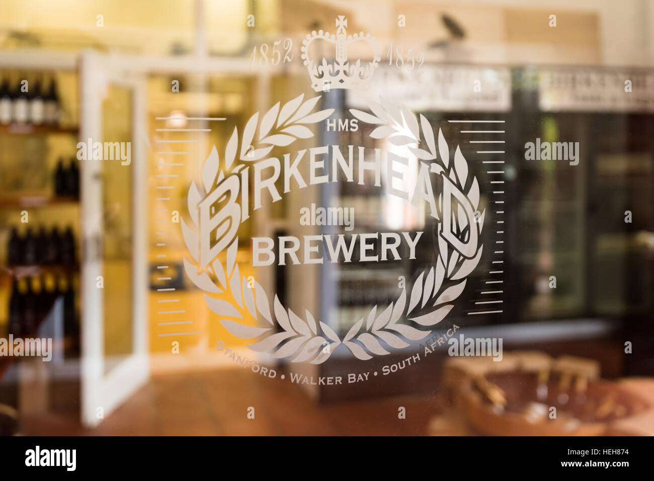 Birkenhead Craft Beer Brewery, South Africa - Stock Image