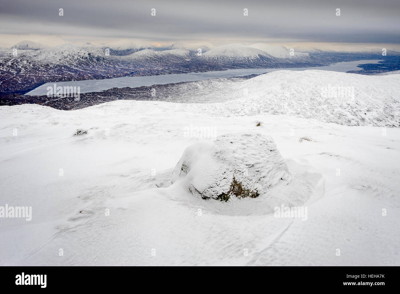 Highland Winter - Stock Image