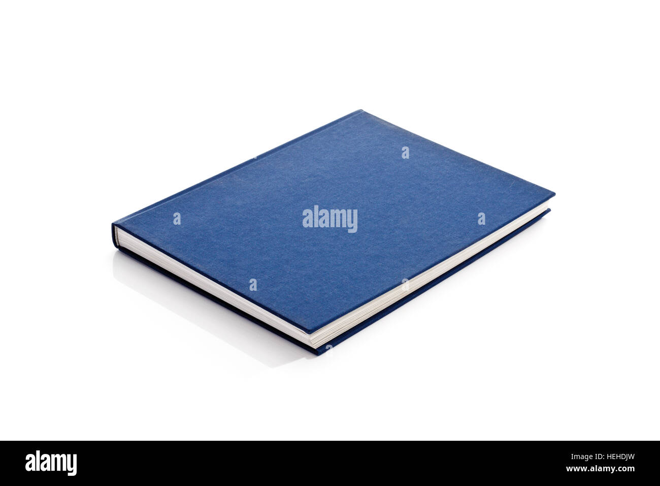 Blue Cover Cookbook ~ Dust cover stock photos images alamy