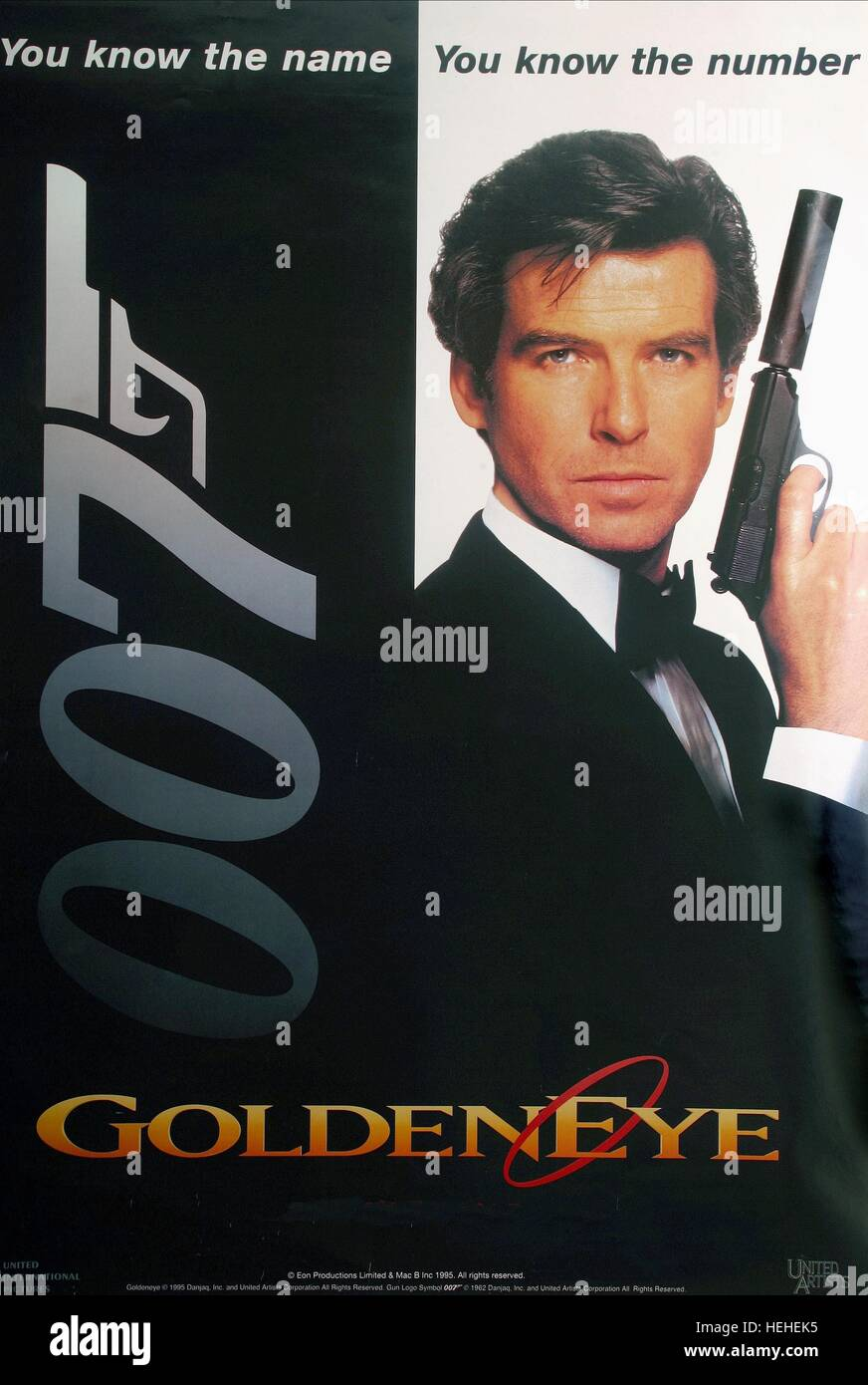 James Bond Pierce Brosnan Filme List Of All James Bond