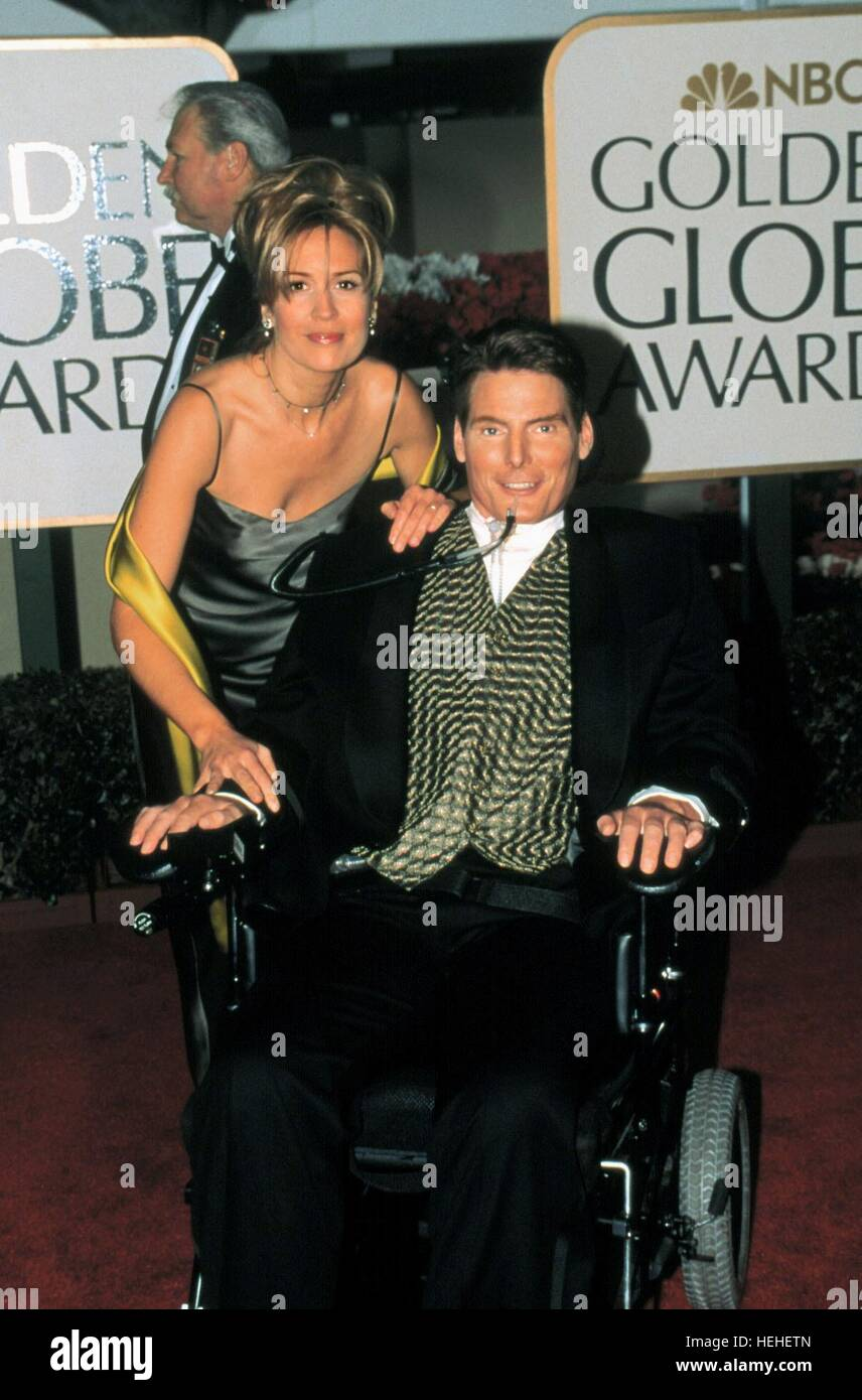 CHRISTOPHER REEVE ACTOR (1999) - Stock Image