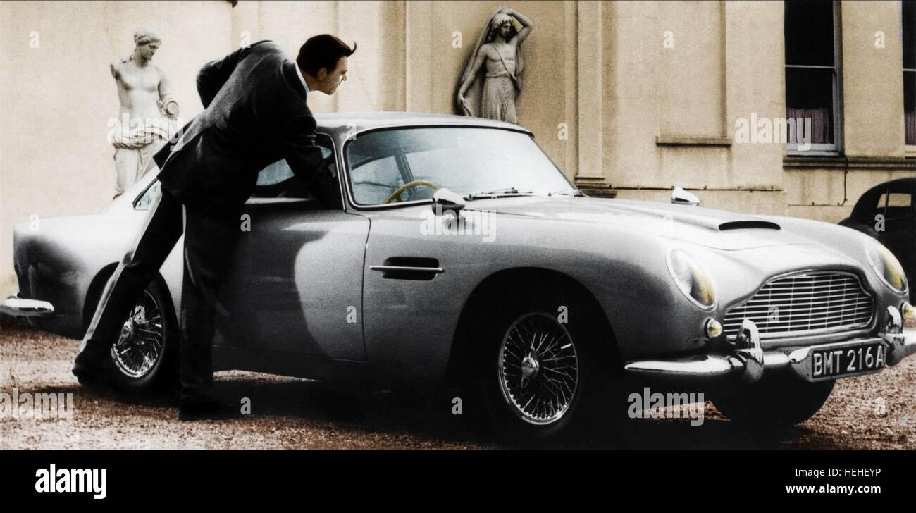 Sean Connery Aston Martin Db5 Thunderball 1965 Stock Photo Alamy