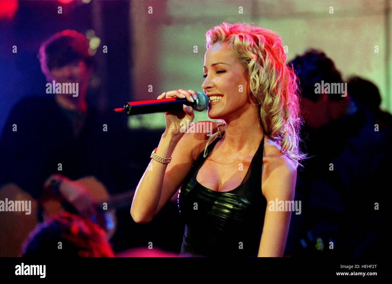 OPHELIE WINTER SINGER AND ACTRESS (1999) - Stock Image