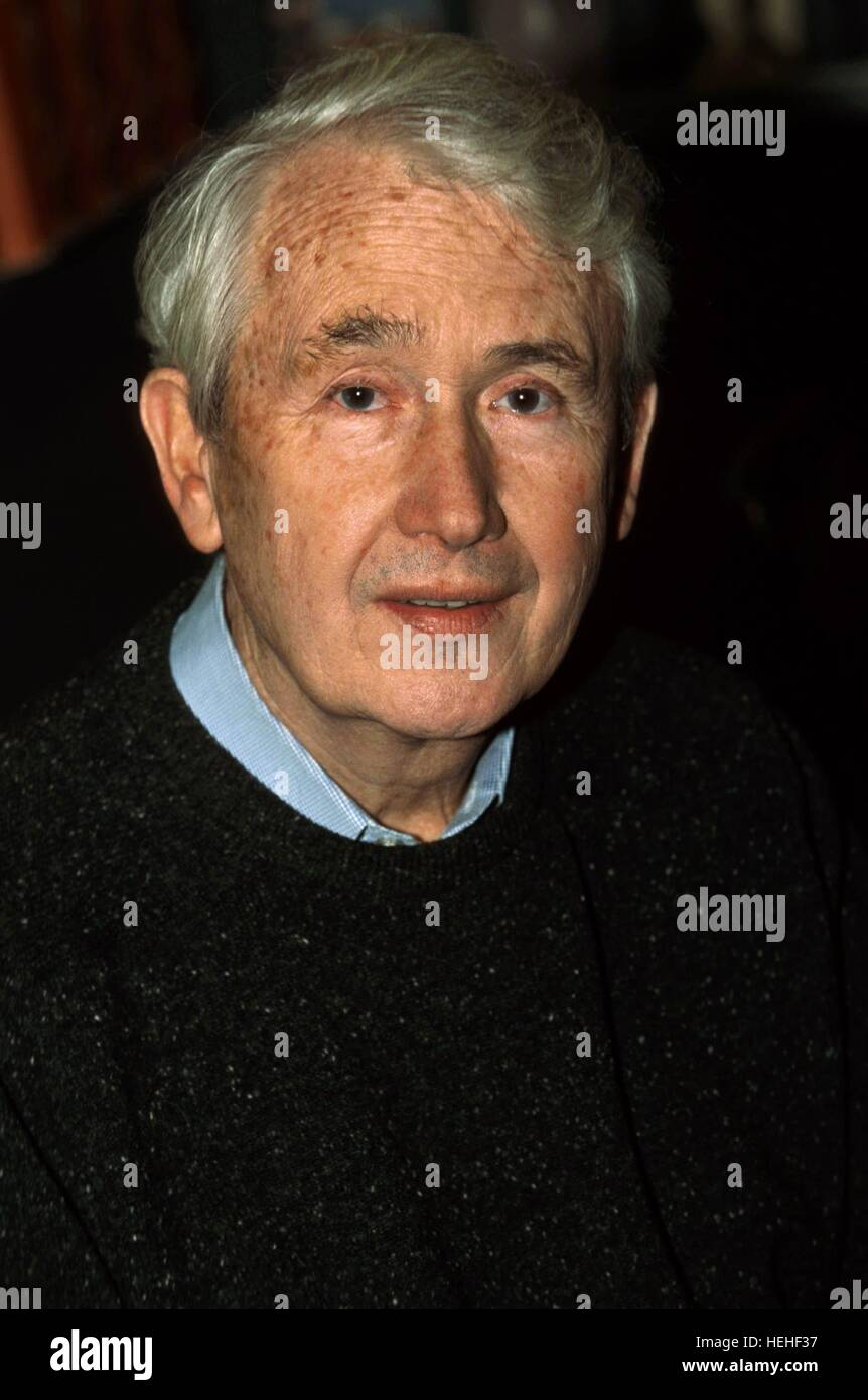 FRANK MCCOURT AUTHOR (1999) Stock Photo