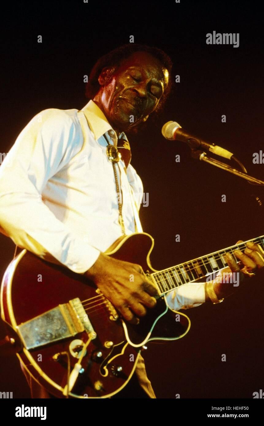 CHUCK BERRY MUSICIAN (1999) - Stock Image