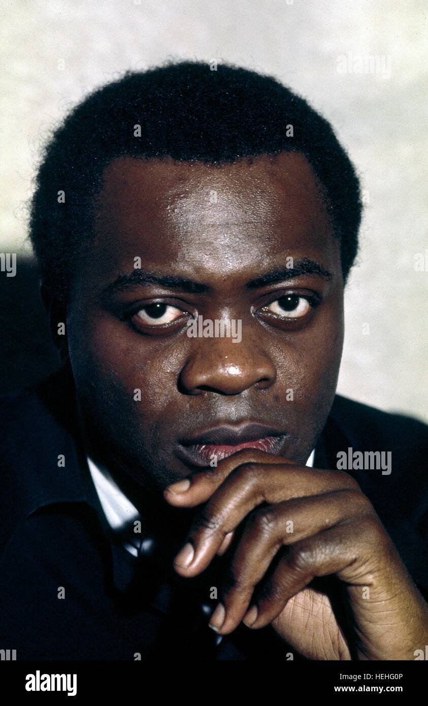YAPHET KOTTO JAMES BOND: LIVE AND LET DIE (1973) - Stock Image