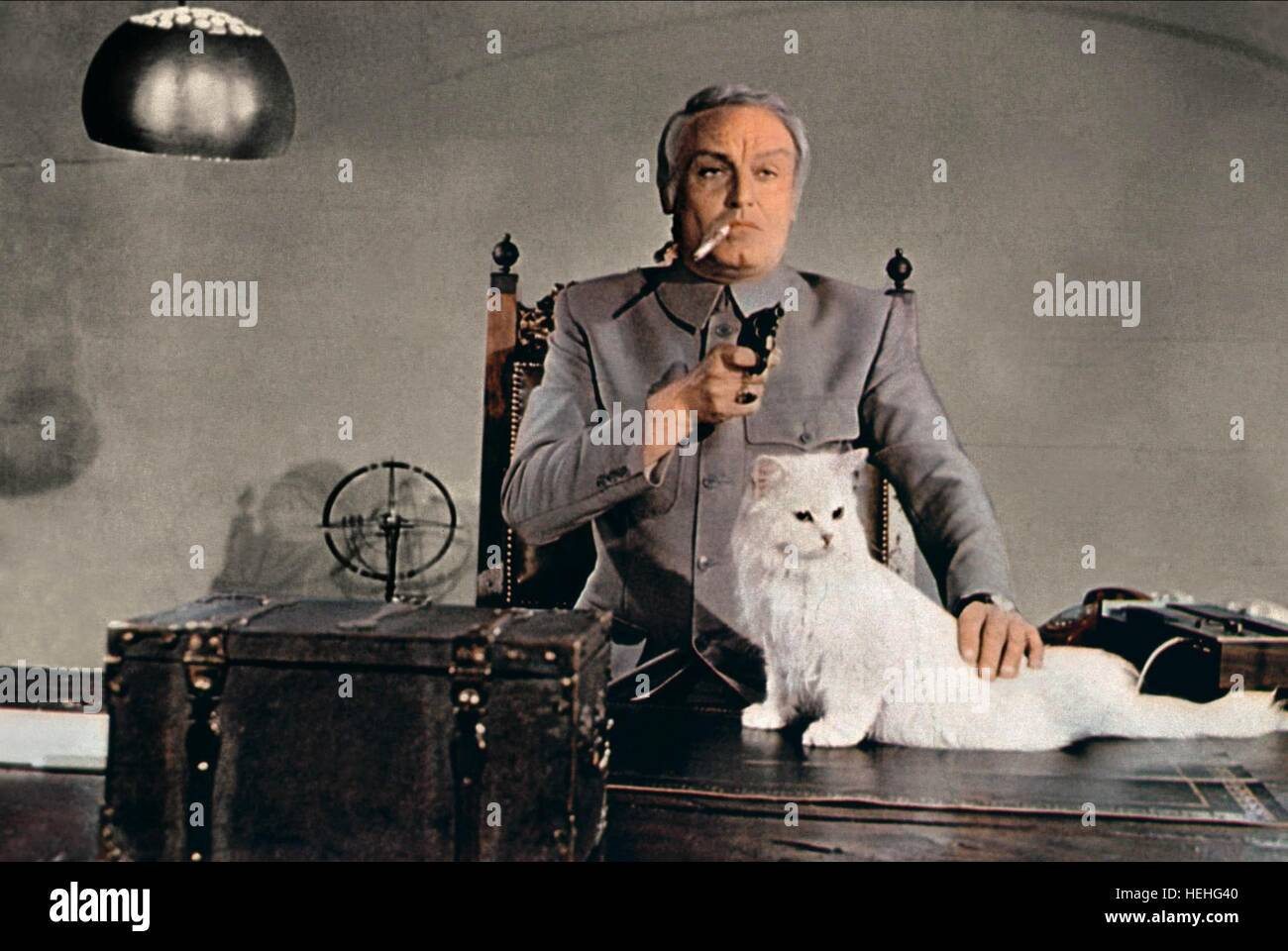 Charles gray as ernst stavro blofeld film title james bond stock charles gray james bond diamonds are forever 1971 stock image publicscrutiny Image collections