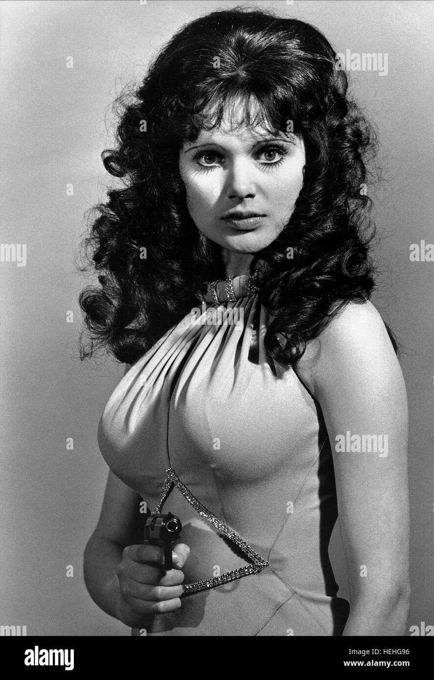MADELINE SMITH JAMES BOND: LIVE AND LET DIE (1973) - Stock Image