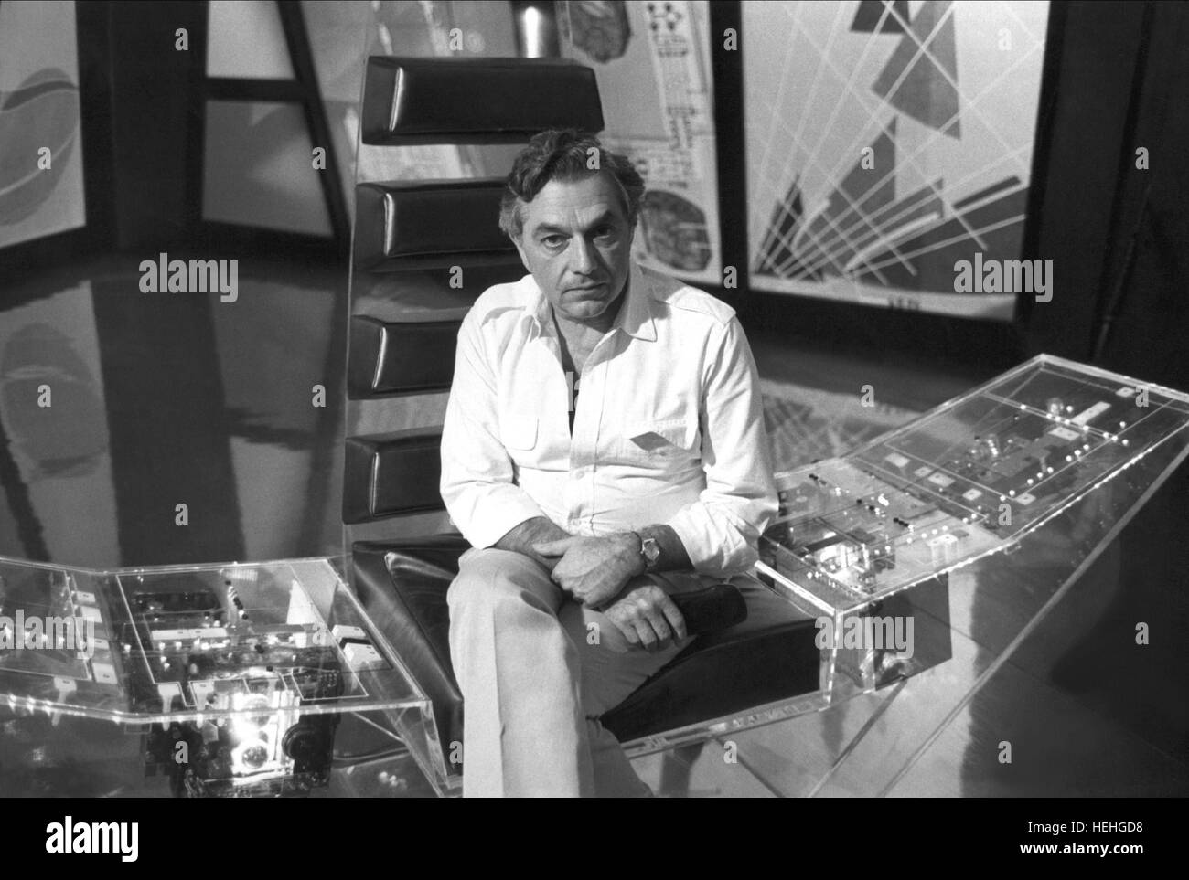 Ken Adams James Bond Moonraker 1979