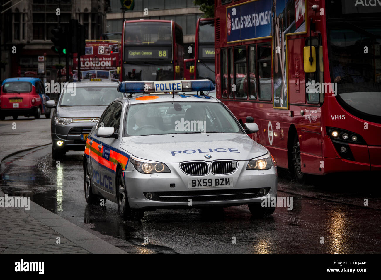Metropolitan Police BMW 5 Series - Stock Image