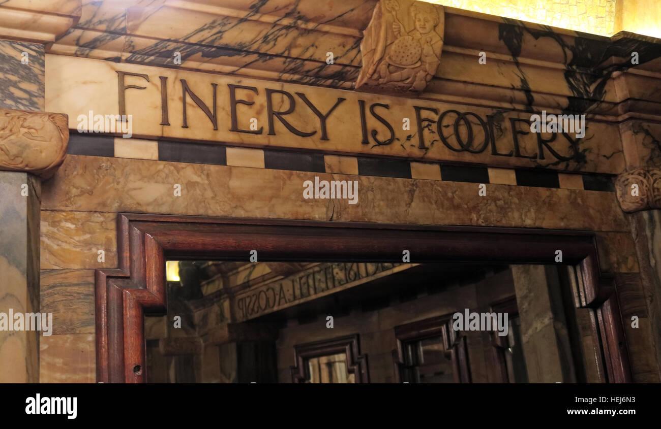 The Black Friar, Blackfriars, London, England, UK at night- Finery Is Foolery Stock Photo