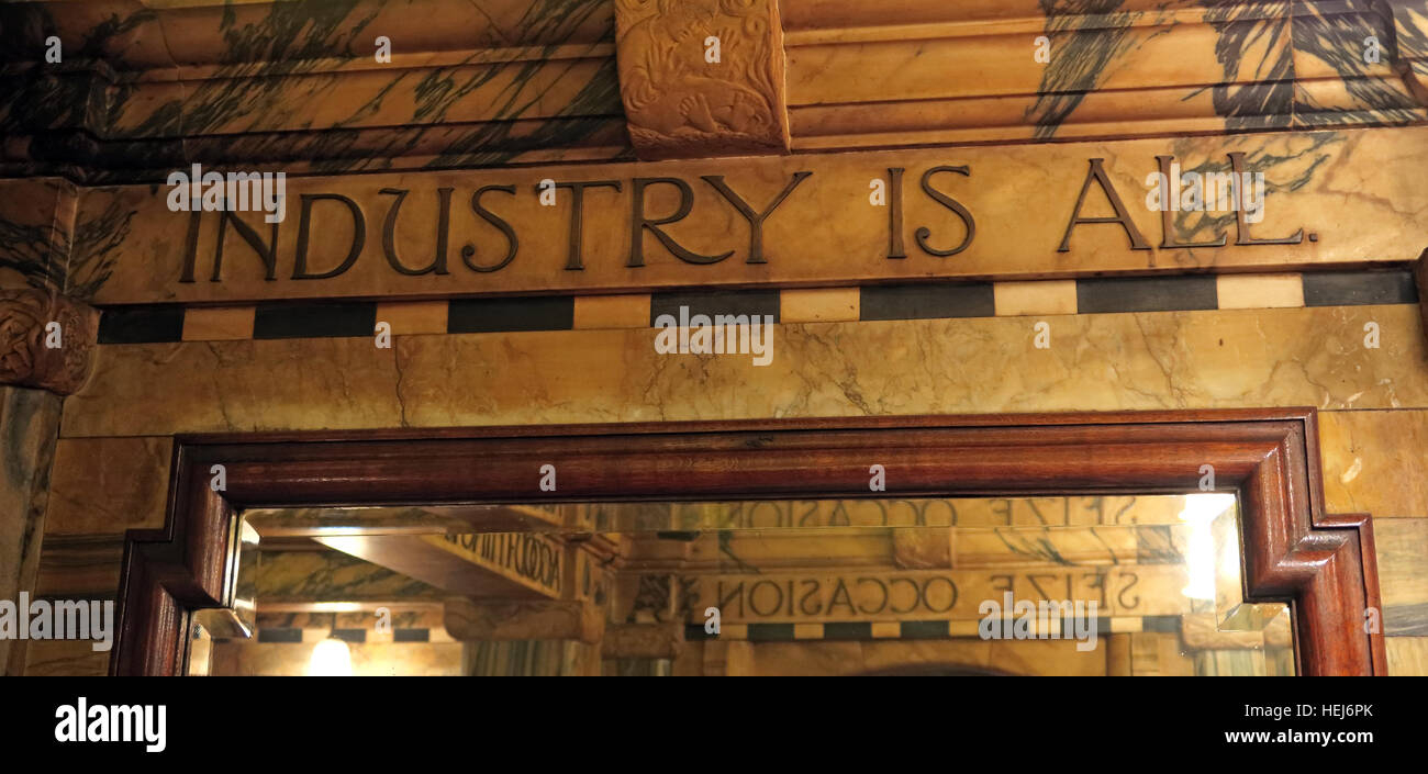 The Black Friar, Blackfriars, London, England, UK at night,Industry Is All - Stock Image