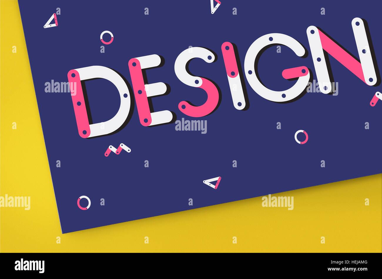 Ideas Design Draft Creative Sketch Objective Concept - Stock Image