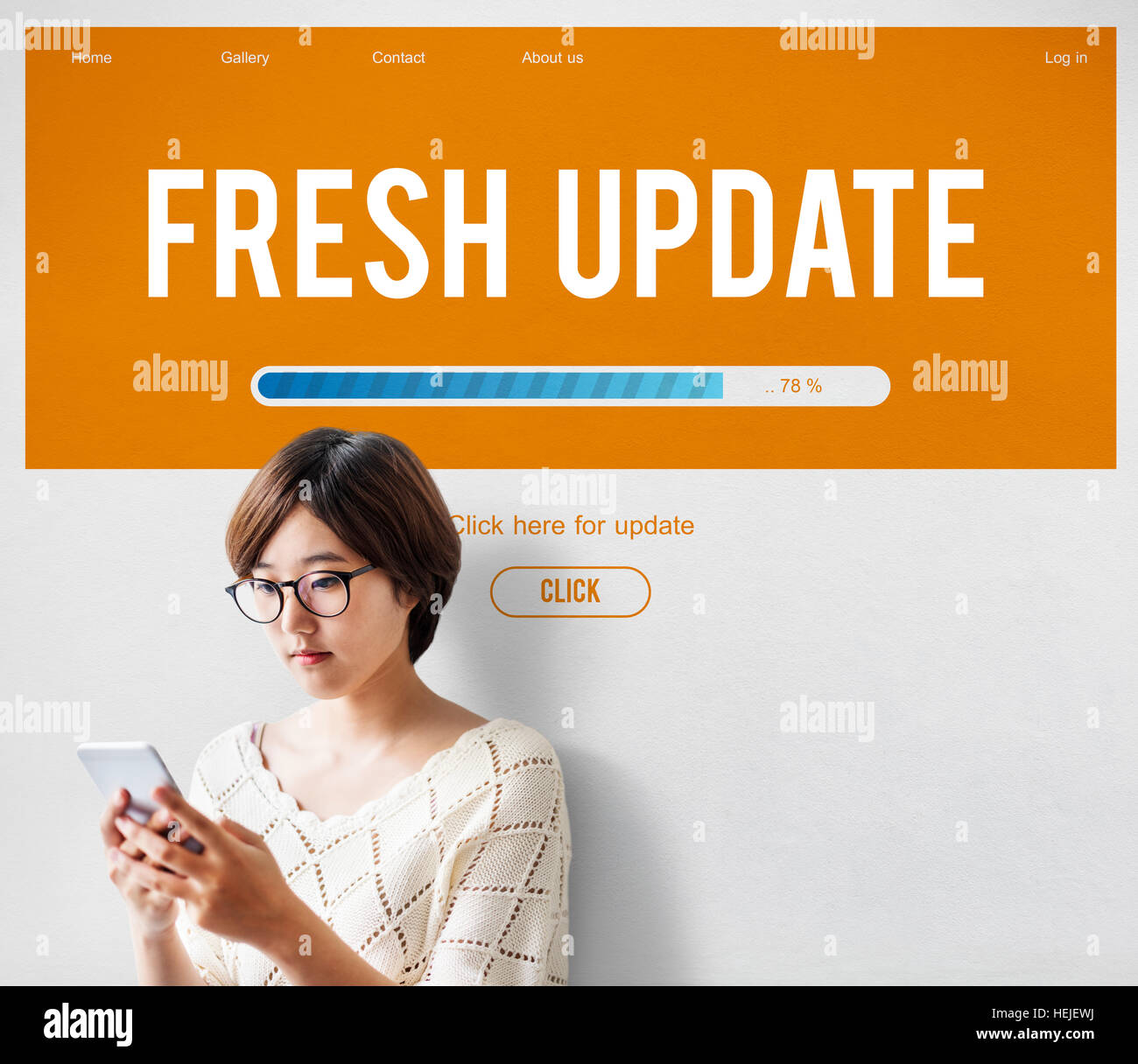 Upgrade Update Software Latest Fresh Software Concept - Stock Image