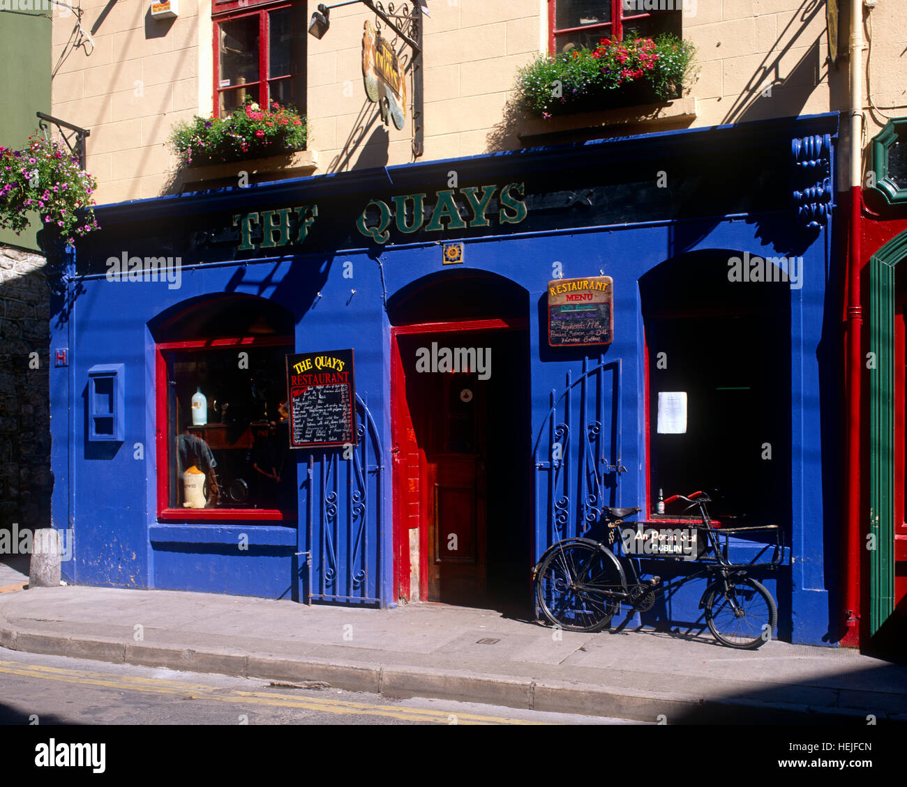 Quay Street, Galway, County Galway, Ireland - Stock Image