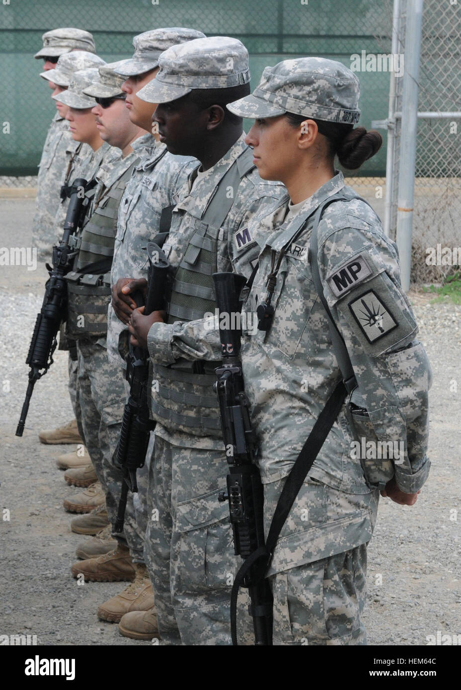 national guard military police