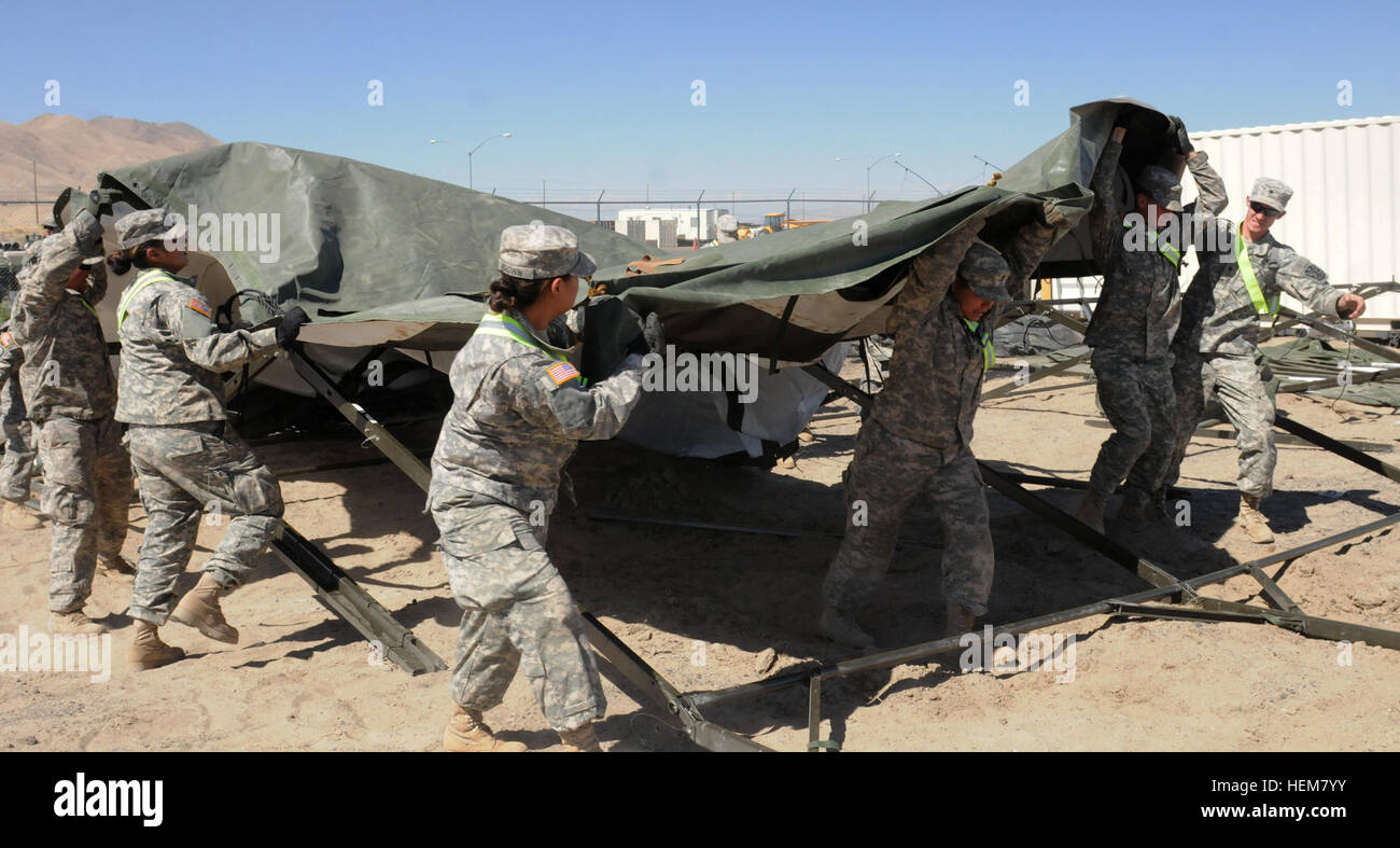 WINNEMUCCA, Nev  – U S  Army Soldiers with the 1404th