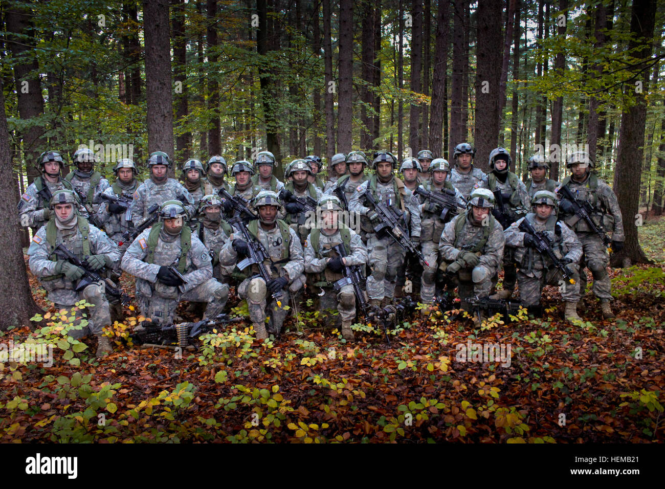 u.s. army soldiers with 2nd platoon, bull troop, 1st squadron, 2nd