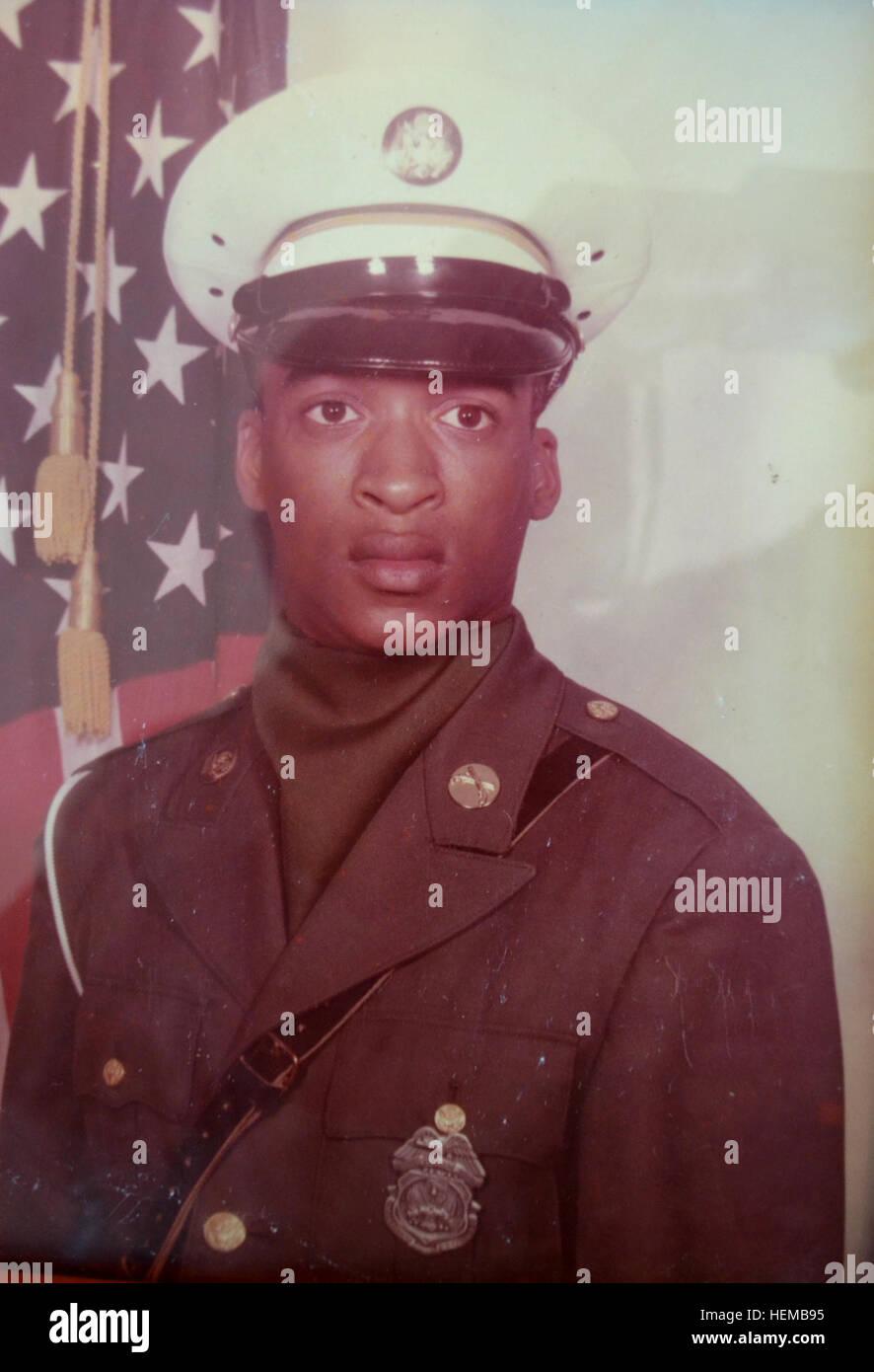 A younger David Ricks as a military policeman stationed at Camp Zama