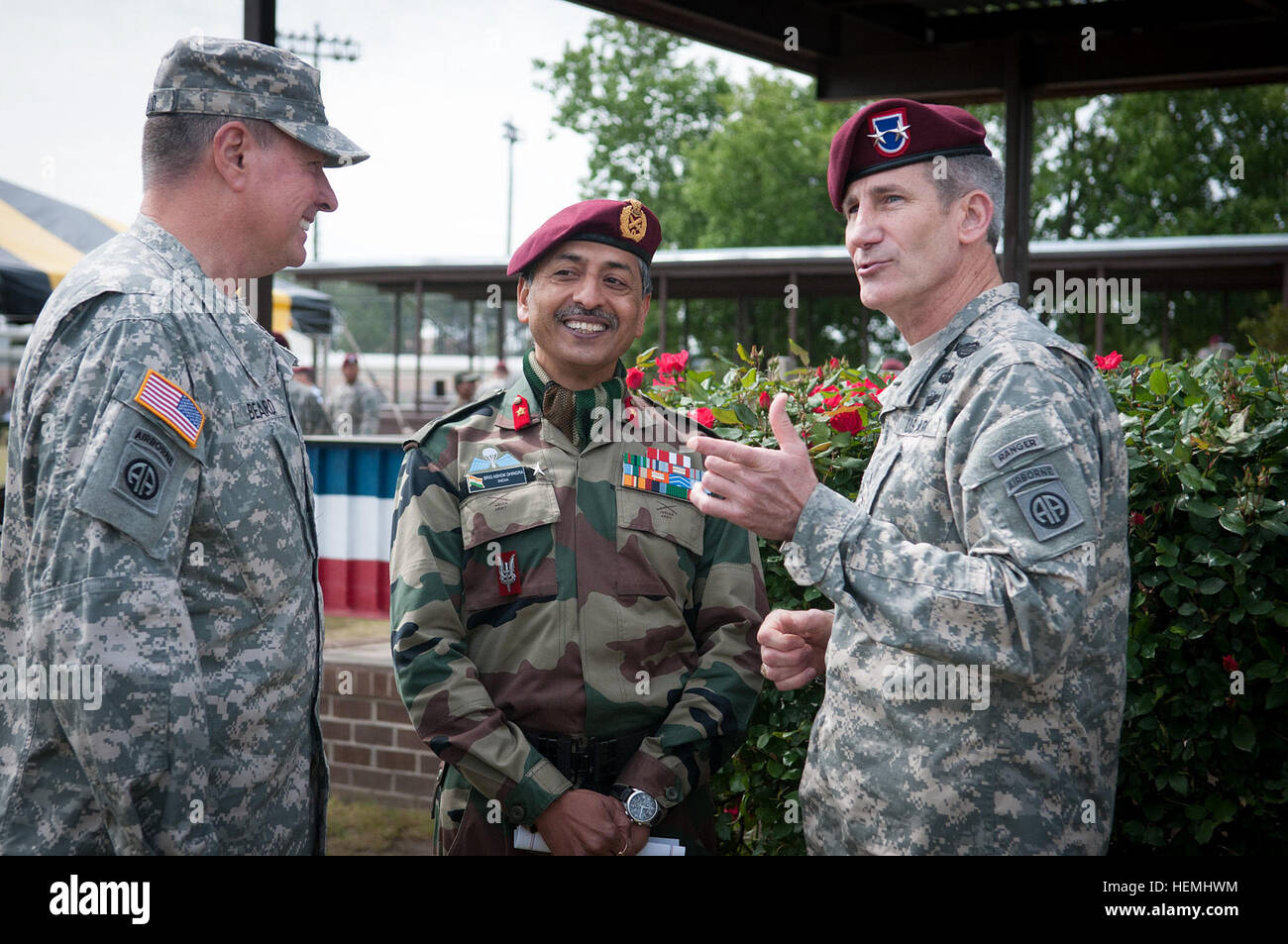 U S  Army Maj  Gen  John W  Nicholson, commanding general of the