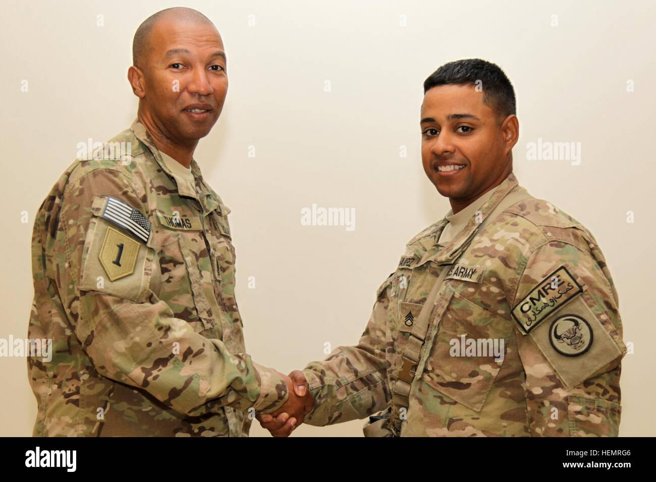 U S Army Staff Sgt Jonel Ramirez Assigned To 846th Transportation Stock Photo Alamy